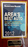 Washingtonian Areas Best Auto D&D Auto Body