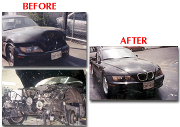 Bethesda collision repair center bethesda md auto repair for Mercedes benz of arlington va body shop